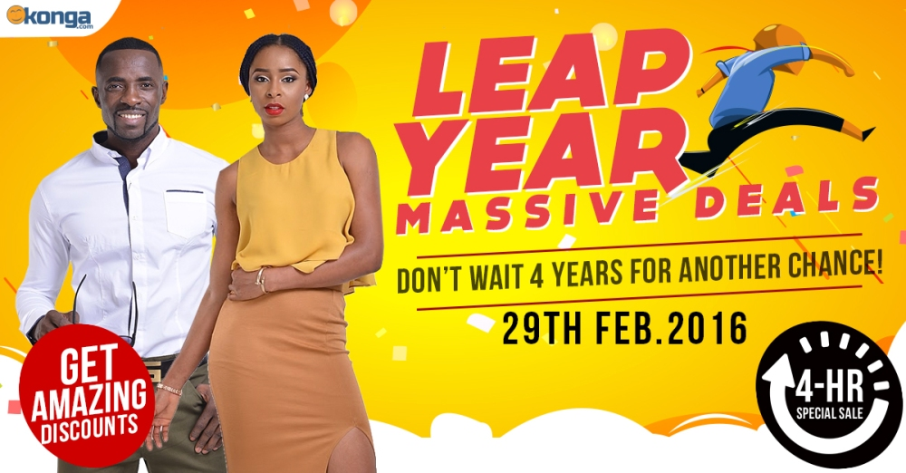 Konga Leap Year Massive Deals www.linorajj.wordpress.com