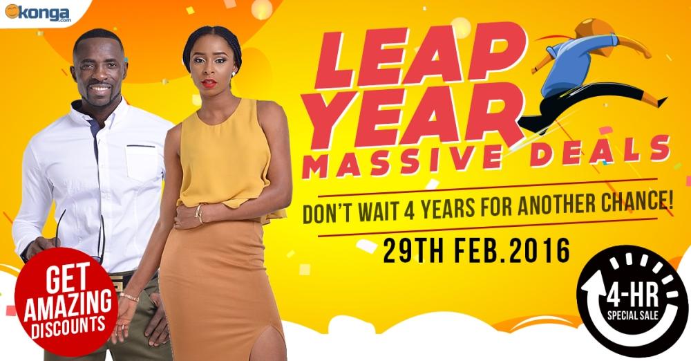 Konga Leap Year Massive Deals www.linorajj.wordpress.com