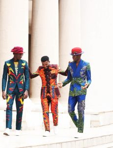 "Kamsi Tcharles Shows His Love Affair With Prints In His S/S19 Collection ""Church Science"""