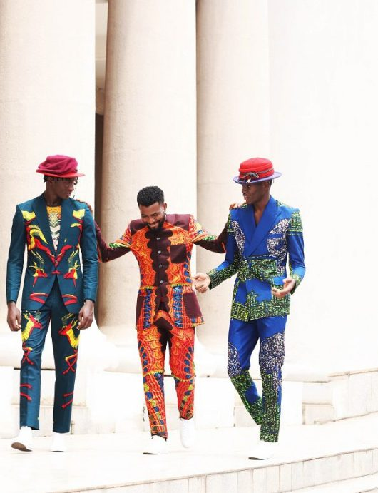 """Kamsi Tcharles Shows His Love Affair With Prints In His S/S19 Collection """"Church Science"""""""