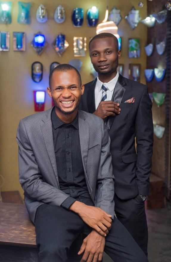 Kingsley and Stanley Okeke