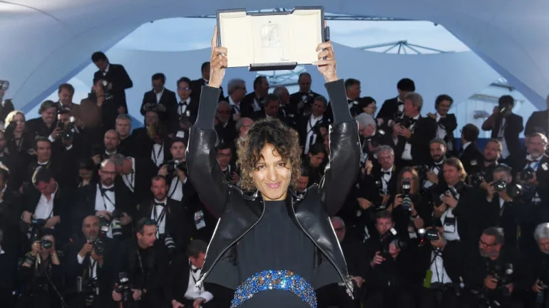 Mati Diop,first black woman to win awards at the Cannes Film Festival (Photo credit: Getty)